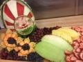 Fruit platter for the Sundowners, change of command event