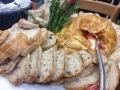 Brie cheese & delcious fresh bread platter