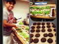 Our great chef Mauricio hard at work :)